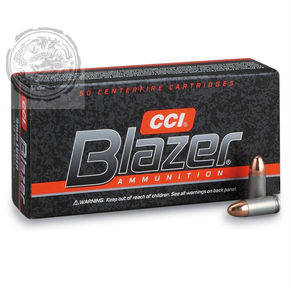 CCI Blazer 9mm Ammunition FMJ 147 GR Box of 50
