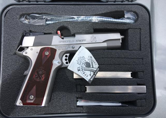 Springfield Armory Range Officer 1911 Pistol 45 ACP 5