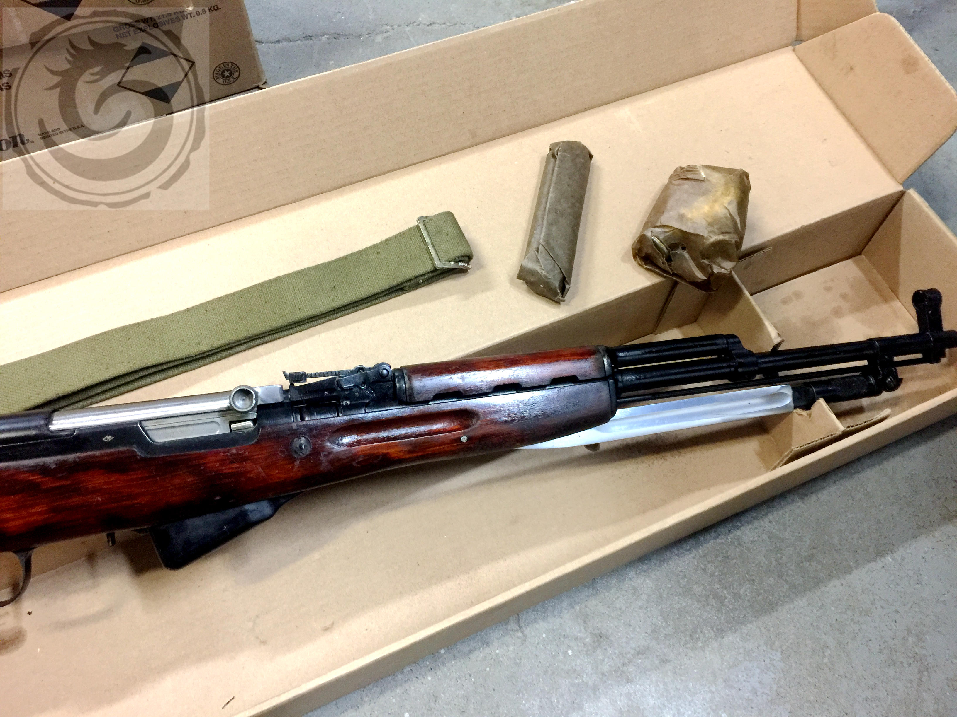 Russian SKS 7 62*39 hardwood stock-Hand Picked Grade