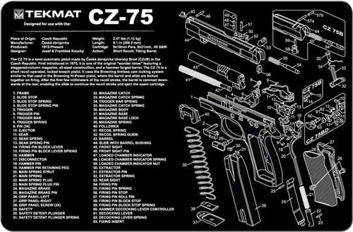 Tekmat Cz 75 Cleaning Mat 17 Quot X 12 Quot Tenda Canada