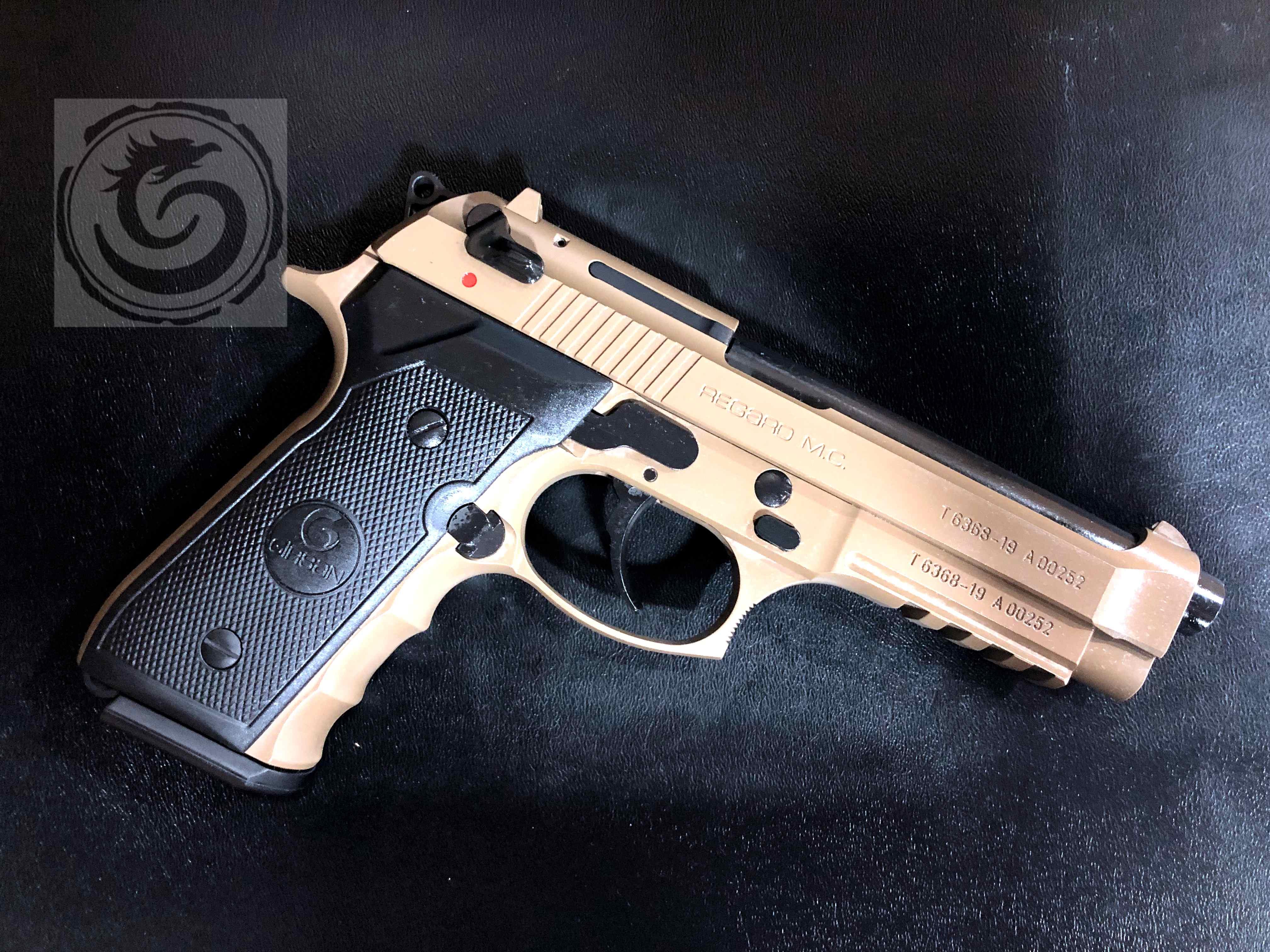 Girsan Regard MC Semi-Auto Pistol Dark Earth 9mm
