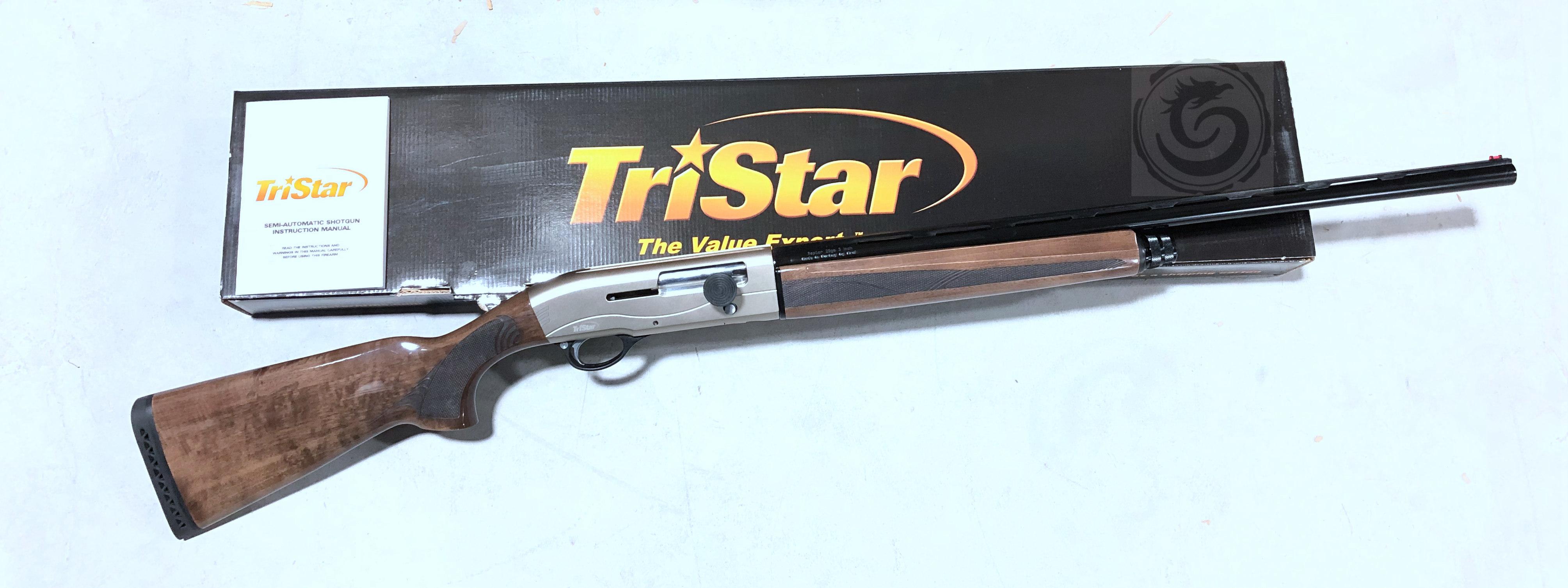 TRISTAR RAPTOR SEMI AUTO SHOTGUN 12 GA 28″ BARREL, WOOD STOCK
