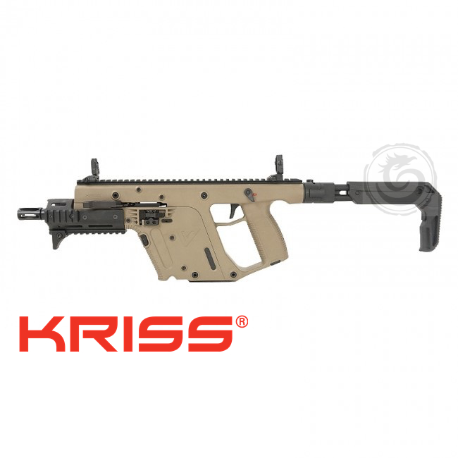 "Kriss Vector Gen II SBR Enhanced 6.5"" FDE-9 MM"